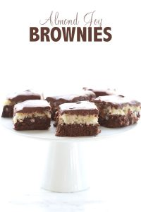 Low Carb Almond Joy Brownies