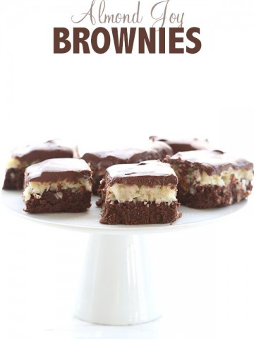Low Carb Almond Joy Brownies