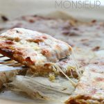 Low carb Croque Monsieur sandwiches made on a healthy cauliflower crust!