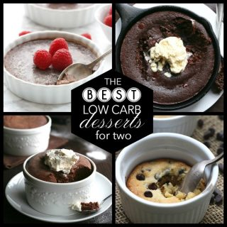 Low Carb Desserts for Two