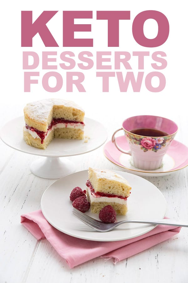Low Carb Desserts For Two have built in portion control. See all of these delicious keto small batch recipes.