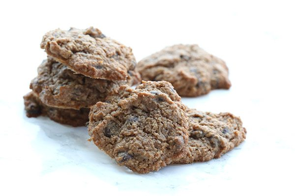 Low carb chocolate chip cookies from a mix