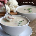 Slow Cooker Ham And Cheese Cauliflower Soup Recipe