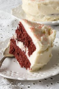 Low Carb Red Velvet Mug Cake For Two