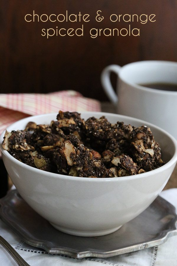 Low Carb Grain Free Chocolate Granola Recipe