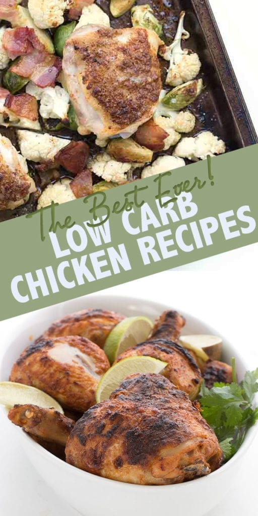 50 of the best low carb chicken recipes the internet has to offer.