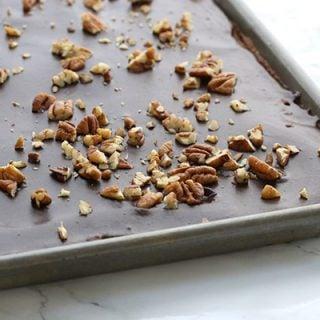 Low Carb Grain-Free Texas Sheet Cake Recipe