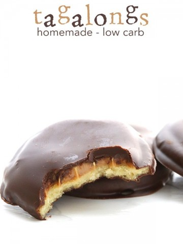 Low Carb Grain-Free Tagalong Cookies