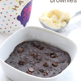 Single Serve Low Carb Brownie Recipe