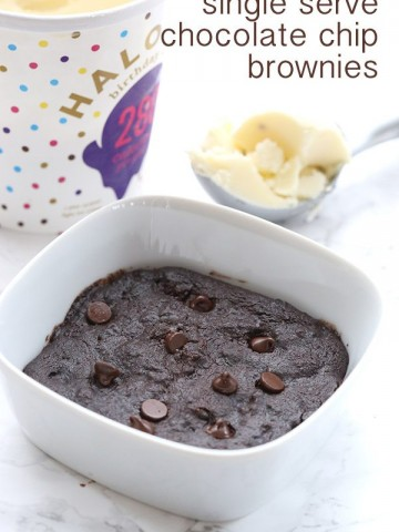 Single Serve Low Carb Brownie Recipe