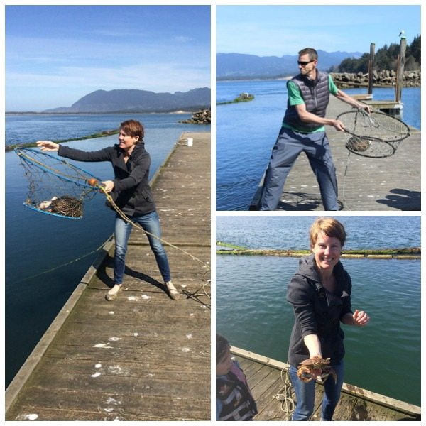 Crabbing at Kelly's Marina