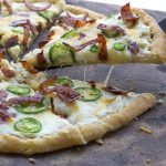 Low Carb Grain-Free Jalapeño Popper Pizza