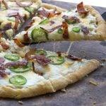 Low Carb Grain-Free Jalapeño Popper Pizza