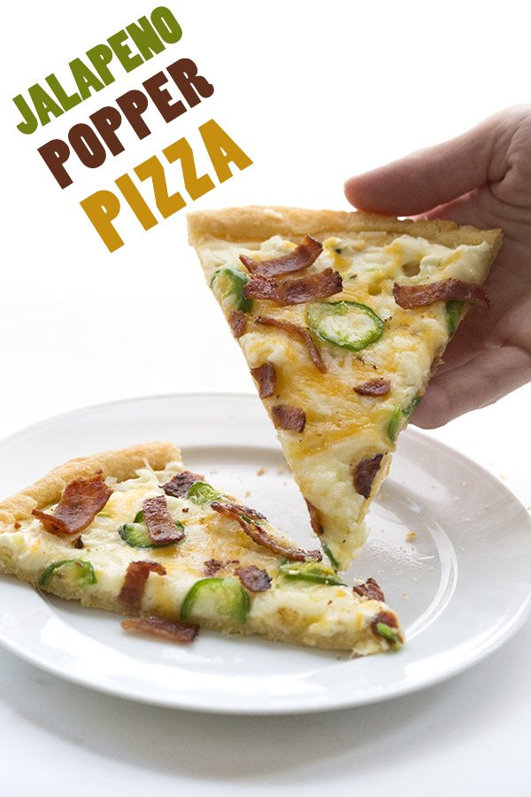 Low Carb Grain-Free Jalapeño Popper Pizza | All Day I ...