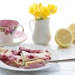Low Carb Lemon Crepes with Creamy Raspberry Filling. Keto Mother's Day Brunch!