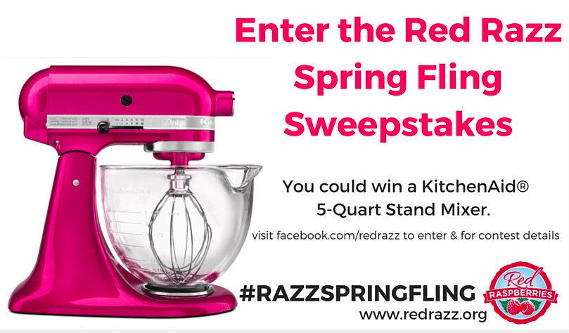 KitchenAid giveaway.