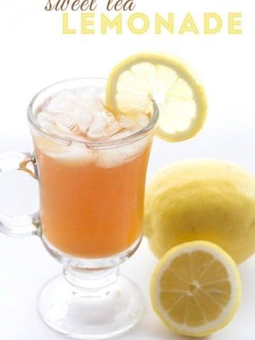 Low Carb Sugar Free Ice Tea Lemonade