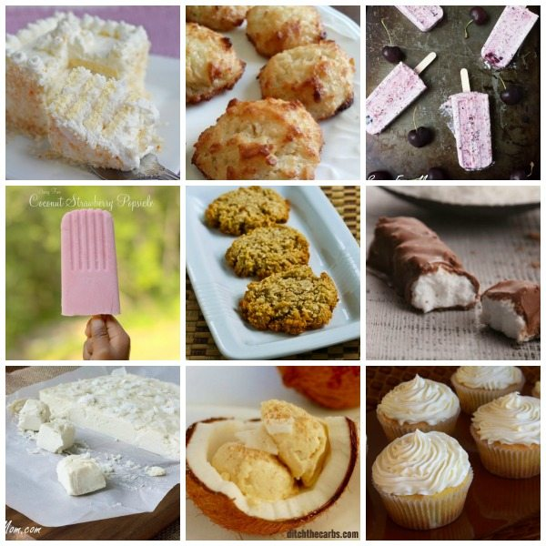 Best low carb coconut dessert recipes