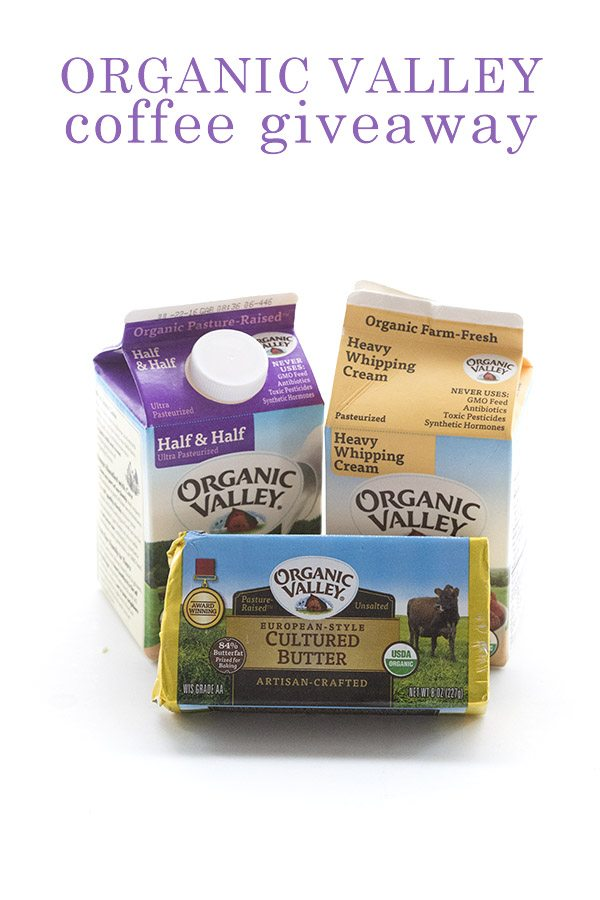 Low Carb giveaway from Organic Valley