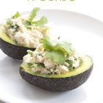 Low Carb Ketogenic Crab Stuffed Avocado Recipe