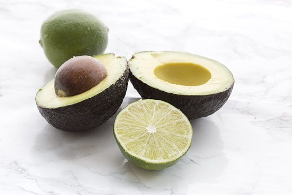 Delicious California Avocados stuffed with crab and lime. An easy and healthy meal that whips up in minutes.