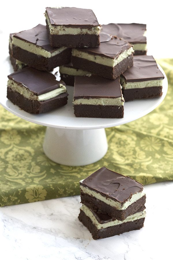 Love chocolate and mint? Then you will love these keto grasshopper bars!