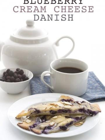Low Carb Keto Blueberry Danish Recipe