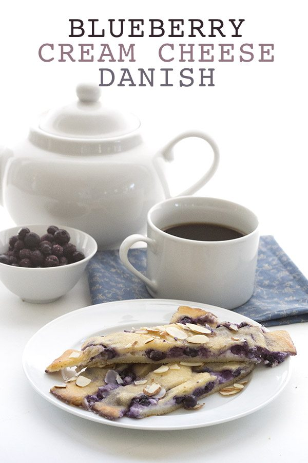 Low Carb Keto Blueberry Danish Recipe