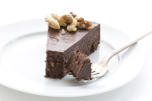 You're new favourite low carb chocolate cake recipes. Made with walnuts, this rich torte is sure to satisfy.