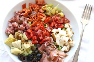 Low Carb Chopped Antipasto Salad