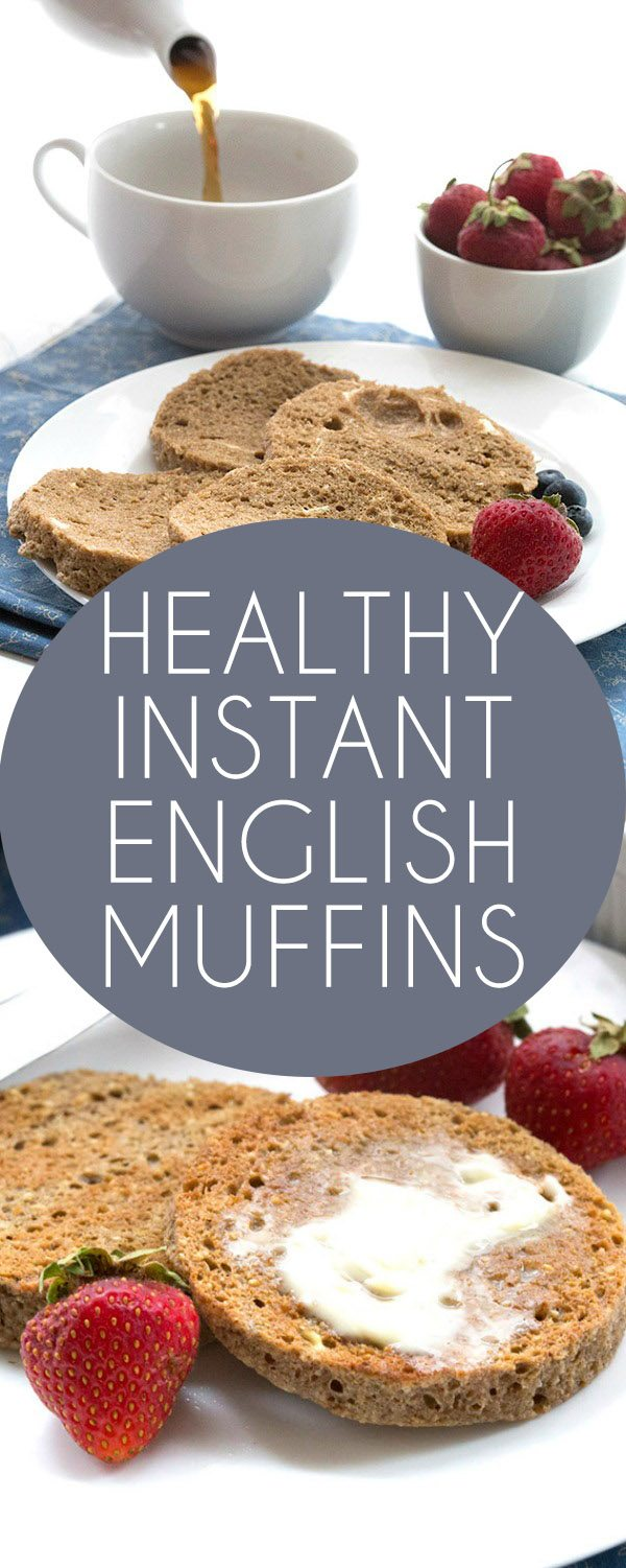 Delicious low carb grain-free English muffins that take only a few minutes to make. These are nut-free and paleo-friendly. Good for THM, Atkins, Banting, LCHF