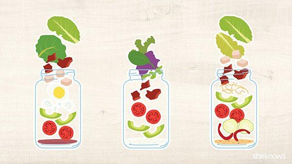 Low Carb Mason Jar Salad Recipes