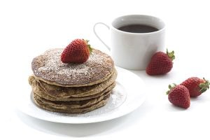 Low Carb Snickerdoodle Pancakes