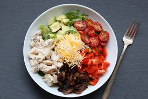 Low Carb Southwestern Turkey Chopped Salad