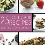 The best of low carb keto summer recipes. From salad to pancakes to dessert, you can enjoy a healthy and happy season.