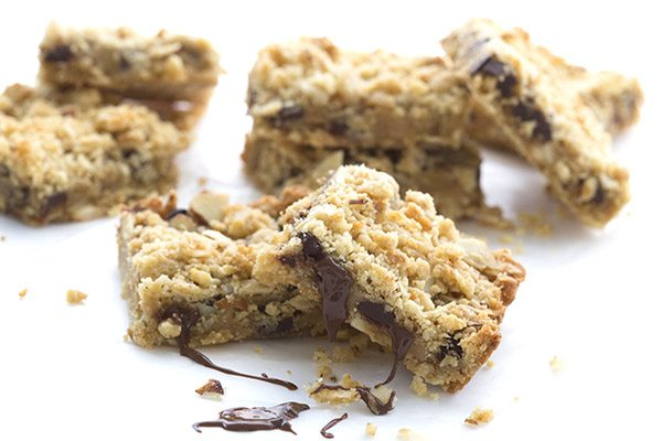 Ooey gooey low carb sugar-free Carmelitas