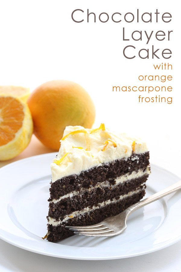 Low Carb Keto Chocolate Cake Recipe with Orange Mascarpone Frosting. THM LCHF Keto Banting Recipe