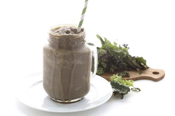 Low Carb Keto Chocolate Frosty Recipe. LCHF THM