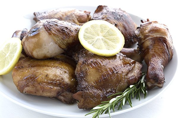 Low Carb Sweet Tea Brined Chicken Recipe. LCHF THM Banting Atkins