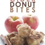 Low Carb Apple Cider Donut Bites. Grain-free Sugar-Free recipe