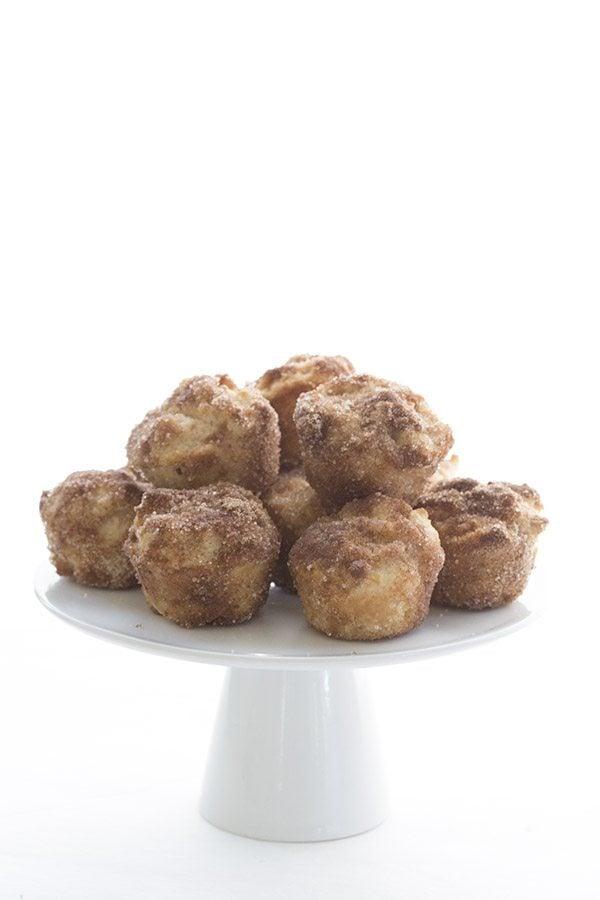 Low Carb Keto Apple Cider Donut Bites