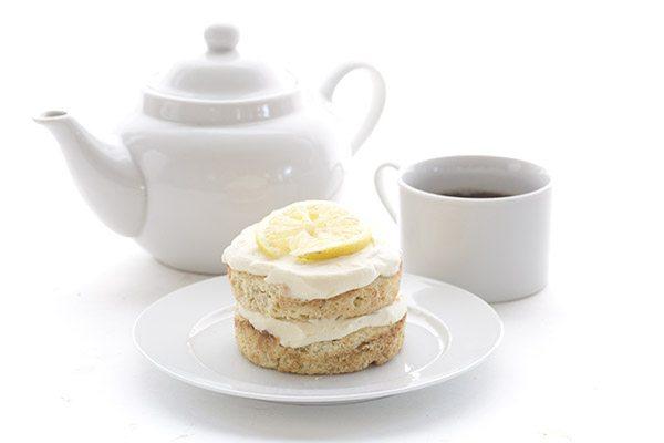 Low Carb Mini Lemon Cream Cake Recipe. THM LCHF Banting Keto