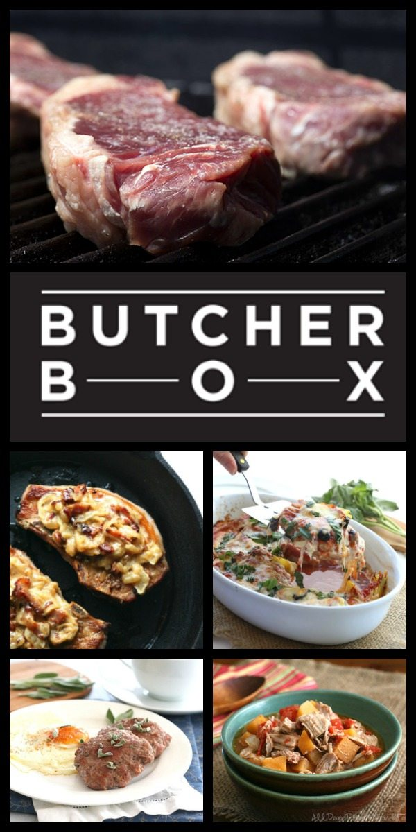 Win a free Butcher Box, filled with grassfed beef and humanely raised pork and chicken!