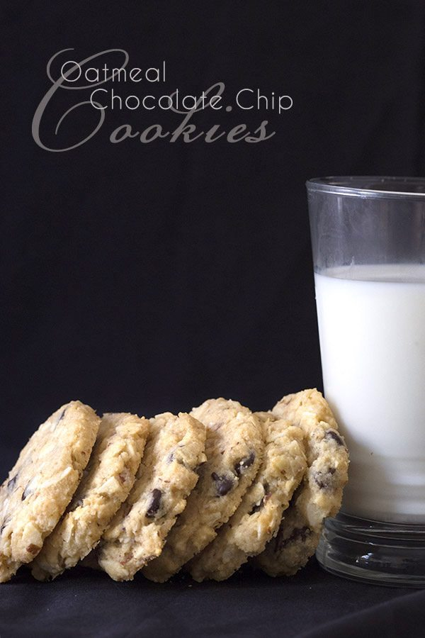 Best Low Carb Oatmeal Chocolate Chip Cookie Recipe All Day I Dream