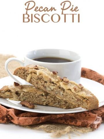 Low Carb Grain-Free Pecan Pie Biscotti