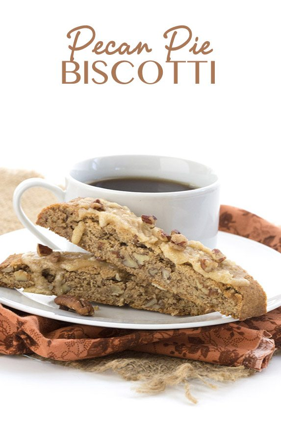 Low Carb Grain-Free Pecan Pie Biscotti
