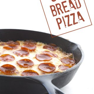 Deep Dish Soul Bread Pizza