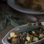Low Carb Bread & Sausage Stuffing Recipe. Keto THM Banting LCHF