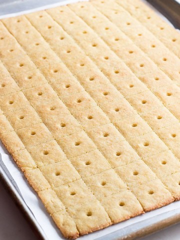 Low Carb Keto Parmesan Cheese Crackers. A healthy version of goldfish!
