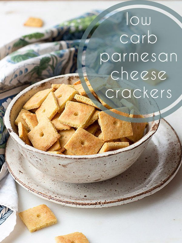 These low carb grain-free cheese crackers are a wonderful alternative to Goldfish.
